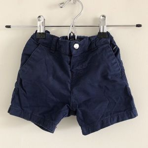 Mayoral Blue Baby Shorts 18m